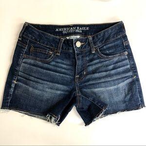 American Eagle Super Stretch Denim Shorts